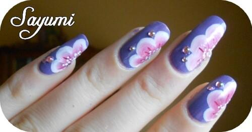 Nail Art Fleurs printanières