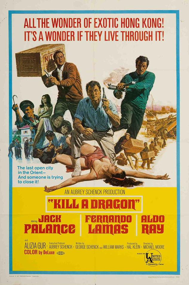 KILL A DRAGON BOX OFFICE USA 1967