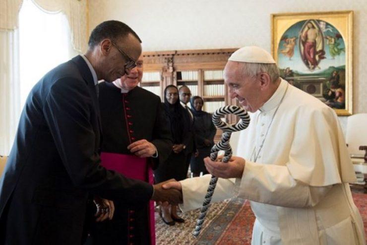 Visite du président du Rwanda Paul Kagame © L'Osservatore Romano