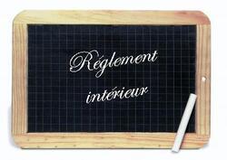 Règlement intérieur 2014-2015