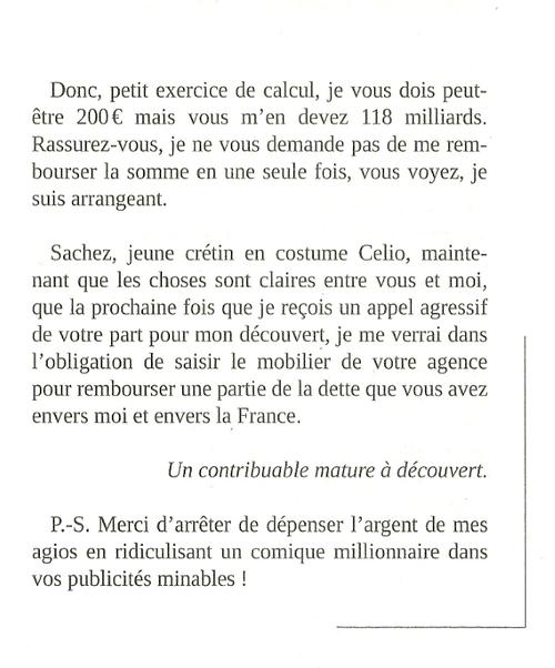Lettres d'injures, suite....