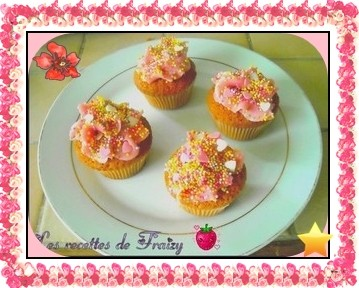 Cupcakes très très girly
