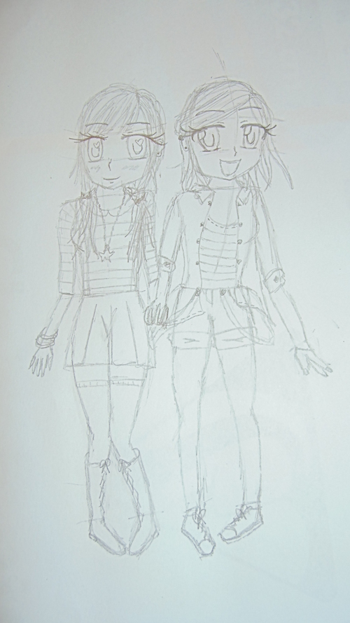 Miyuko and Neguri :3
