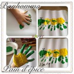 idées peinture mains et doigts