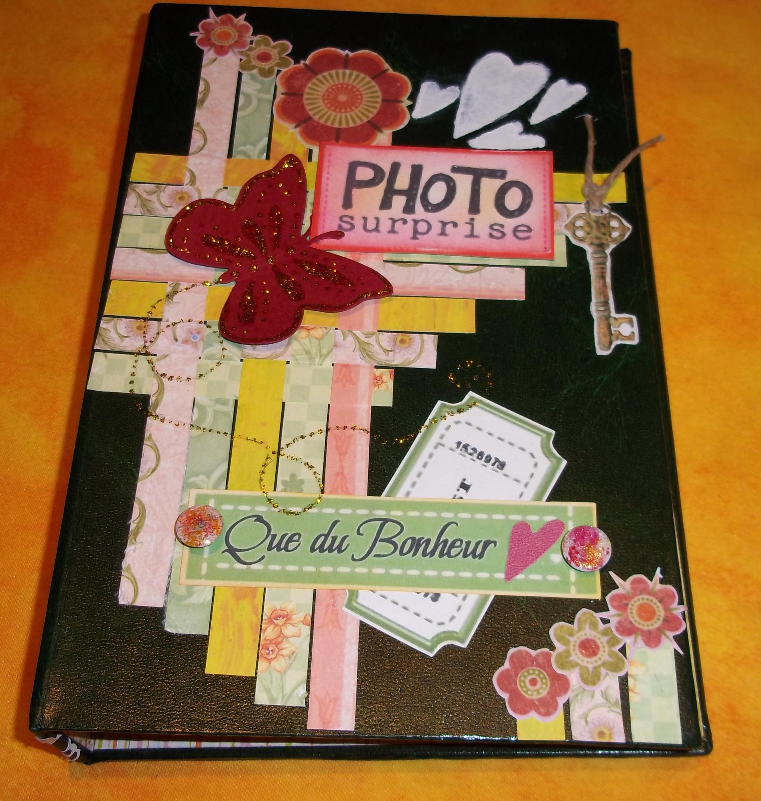 Bien-aimé Scrap Photos d'ko- Mini album bambou - criquette17 WO34