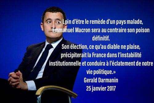 Macron et les 2 mondes