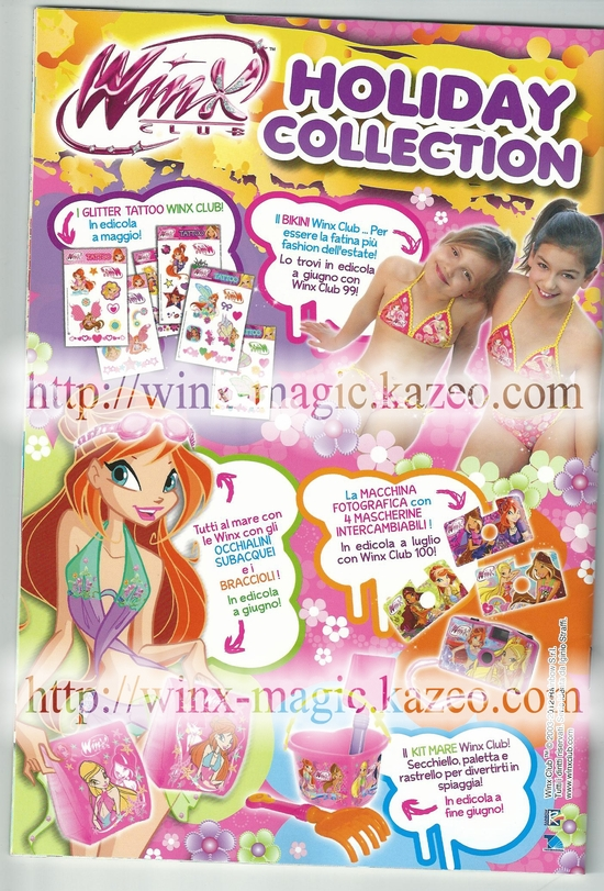Winx summer collection