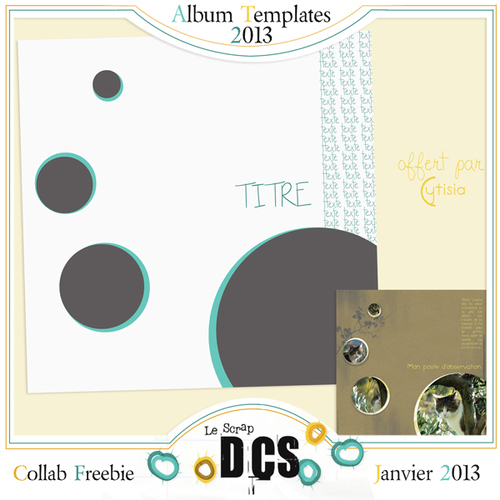 Chez DCS un PACK Template Freebie !