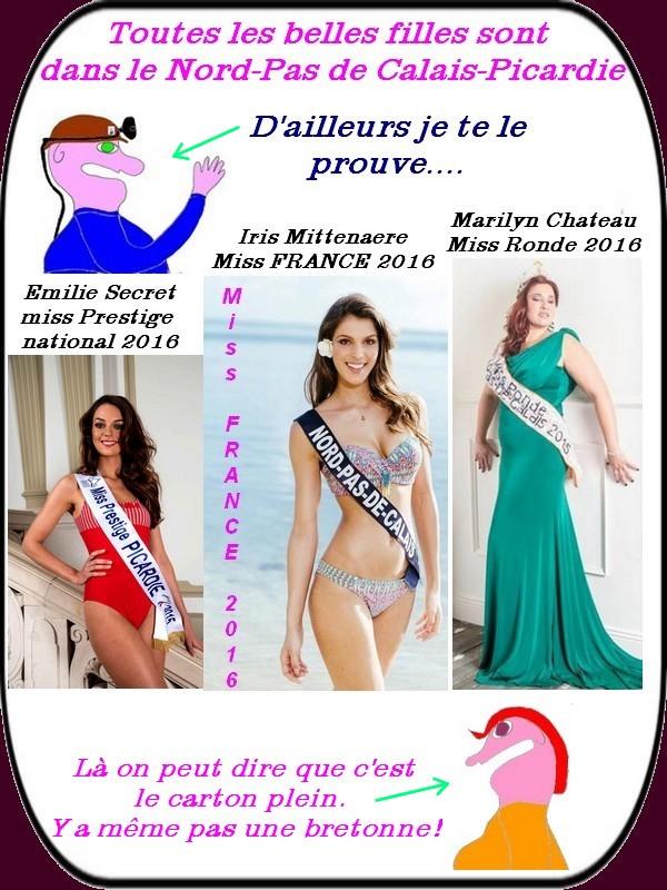 Dans le nord on a les plus belles filles de France.