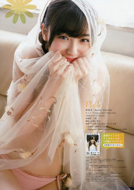 Magazine : ( [Young Animal] - 2017 / N°18 - RaMu & Kanon Hayashi Staring )