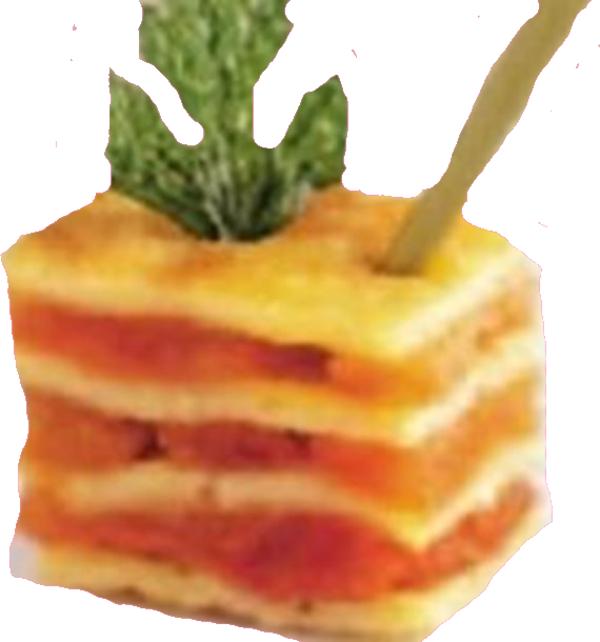 Mille-feuilles d'omelette aux Péquillos