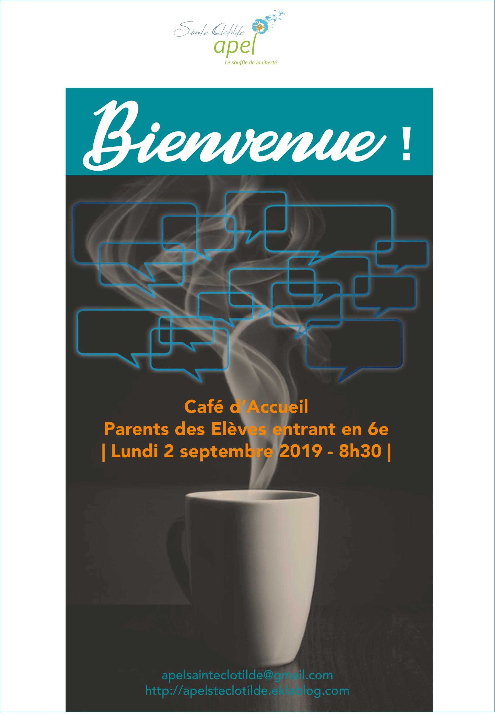 Café d'Accueil Nouveaux Enfants entrant en 6è
