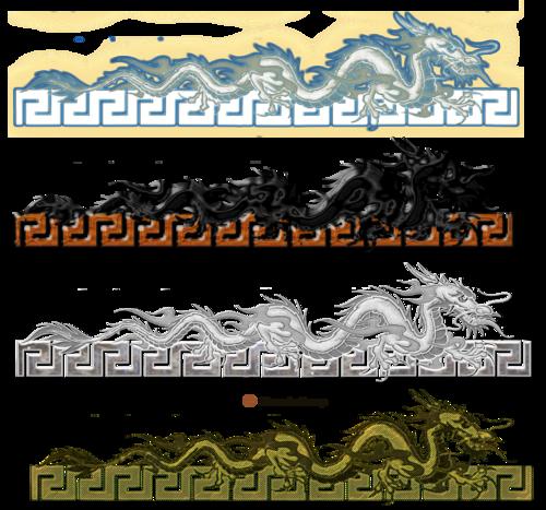 Barres de séparation gothique page 4