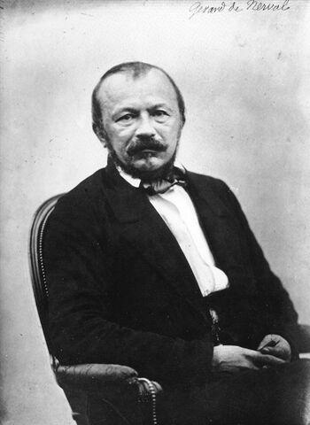 Gérard De Nerval (1808-1855) Square Saint-Jacques (Paris 4ème)