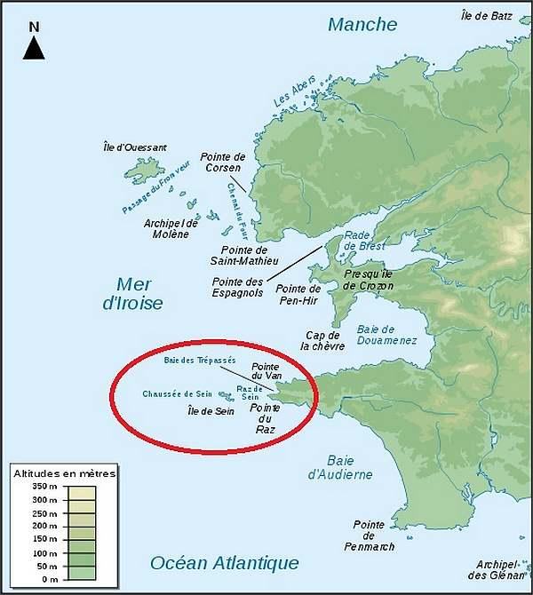 Cap sur l'île de Sein