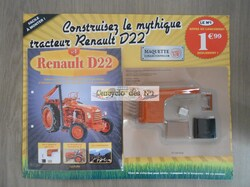 N° 1 Tracteur D22 à construire - Test