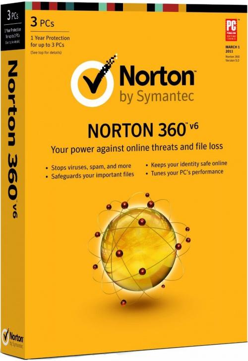 Norton 360 Version 6.0 - Licence 2 mois gratuit