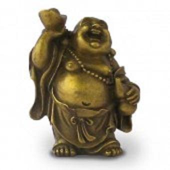 2.Bouddha rieur debout symbolisant la Richesse