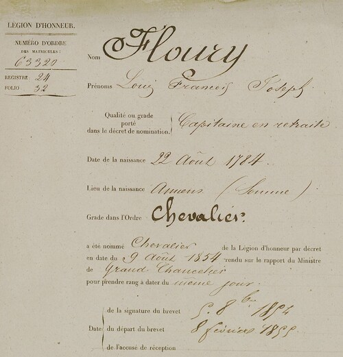 * FLOURY  Louis-François