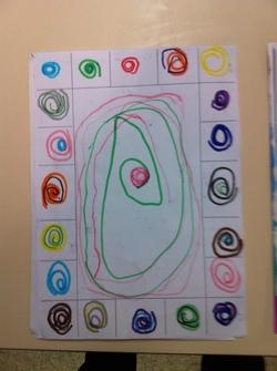Les spirales d'après Terry Frost