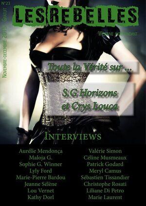 Nos numéros des Rebelles-webzine