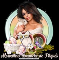 6 Fêtes Pâques - Bunny 2
