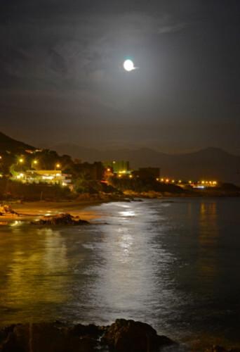 lever de lune ajaccio