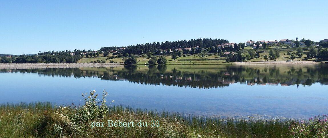 panorama sur le lac de Naussac