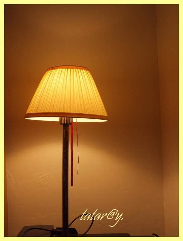 Lumière d'intérieur.