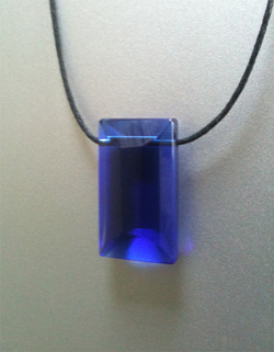 Cristal Andara Merlin bleu