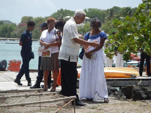 Procession à Sainte Anne