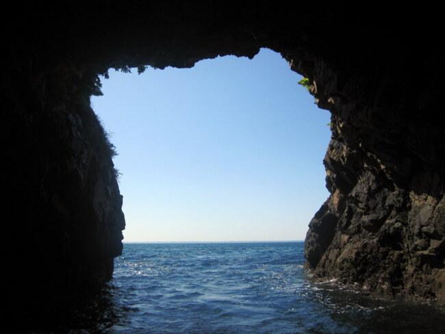 Grottes marine de Morgat