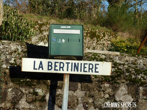 La Tallerie et la Bertinière de Montravers....