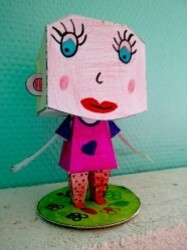 Parentalité Lomme Paper Toy 4