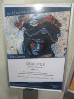 """Exposition """"Dualités"""" à la médiathèque (1)"""