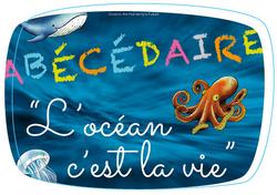 """Abécédaire """"l'océan c'est la vie"""""""