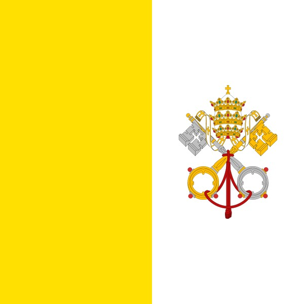 600px-Flag of the Vatican City svg