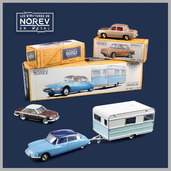 1:43 NOREV Classics CL1511 Citroën DS / CL4511 Panhard 24CT / CL5112 Renault R8 (prototypes)