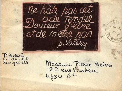 Carte54 / 10/03/1940