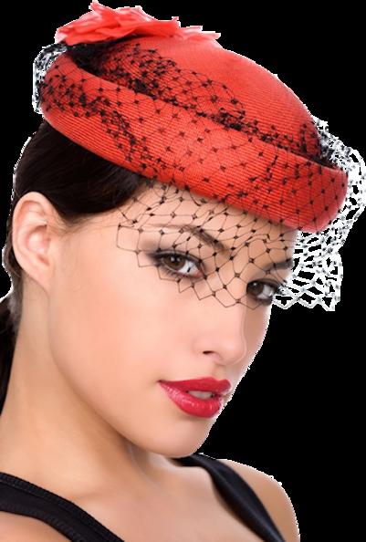 Tubes Femmes aux chapeaux en PNG