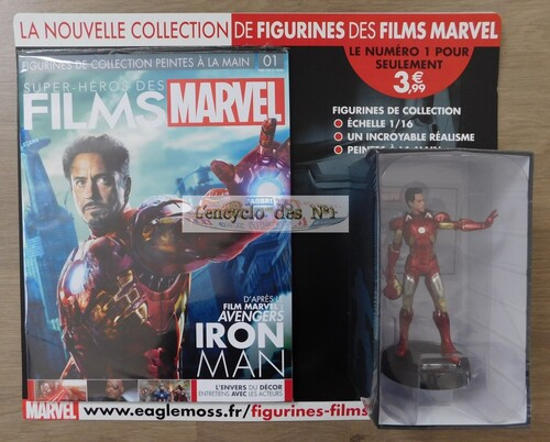 N° 1 Figurines super-héros des films Marvel - Lancement