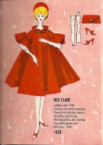 Barbie vintage : Red Flare