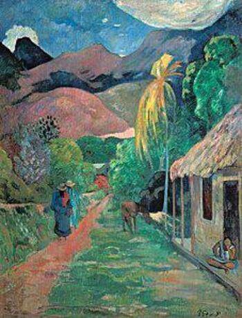 Poésie : Le chemin de Papeete