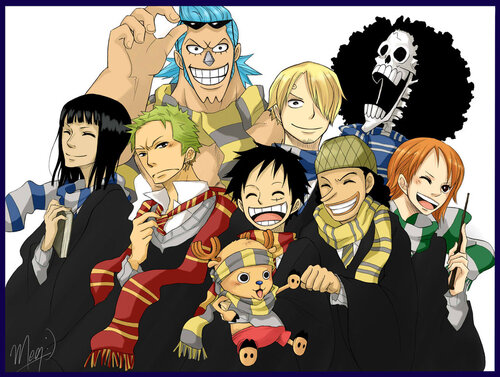 Images Harry Potter X One Piece