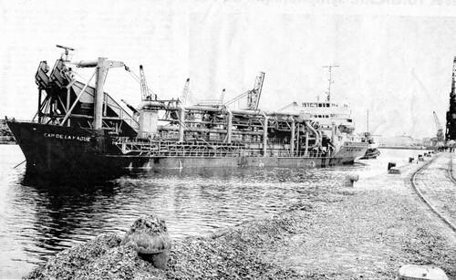 La drague Cap-de-la-Hague chavirait au large de Sangatte