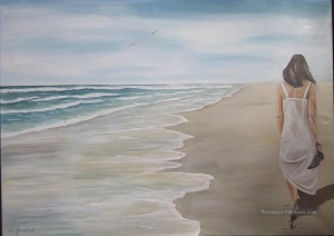 Marques sur le sable ...
