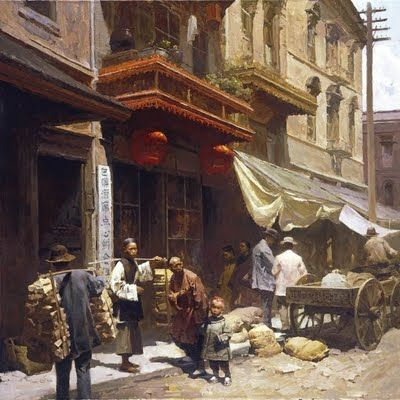 Artist Mian Situ Chinatown deliveries: