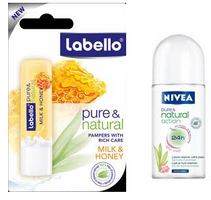 Pure&Natural Labello Nivea