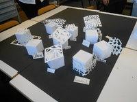 Propositions en maquette papier.