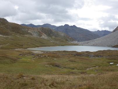 Topo Col des Rochilles (2496m) - Lac de la Clarée (2433m)